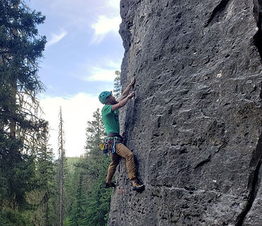 Adult outdoor climbing class