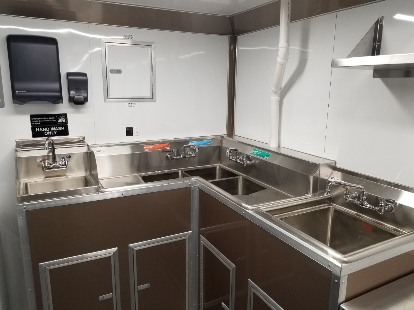 24' Enclosed Mobile Kitchen