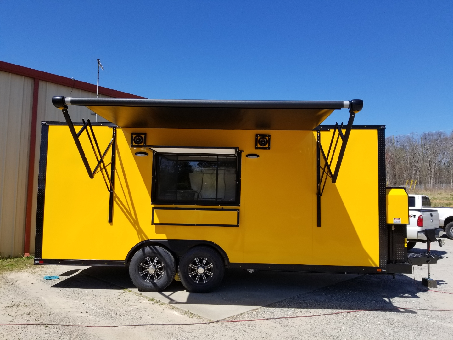 "20"" Enclosed Mobile Kitchen"
