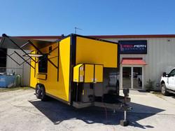 "20"" Enclosed Mobile Kitchen"