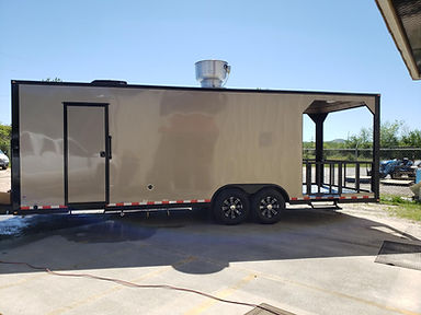 Customize Your 26' Porch Trailer