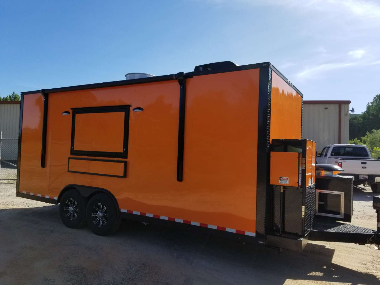 20' Enclosed Mobile Kitchen