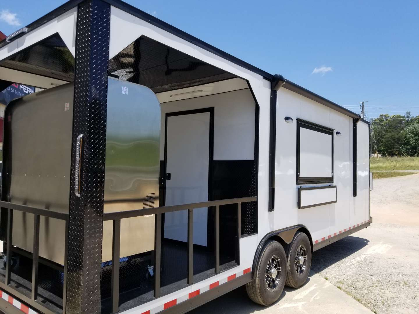 26' Smoker Porch Trailer