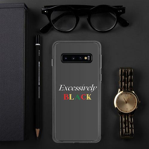 Excessively Black Samsung Case