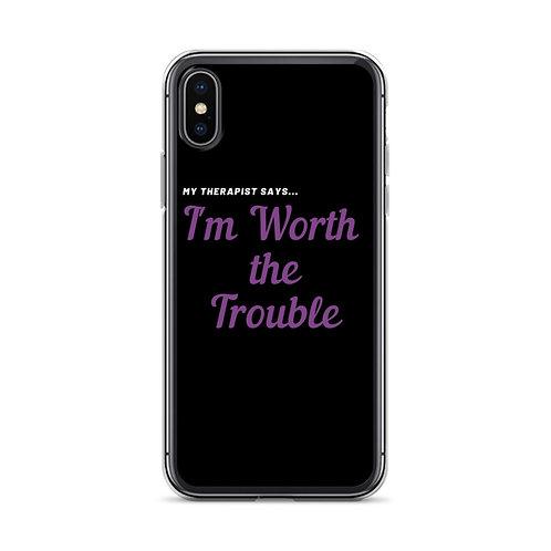 My Therapist Says iPhone Case