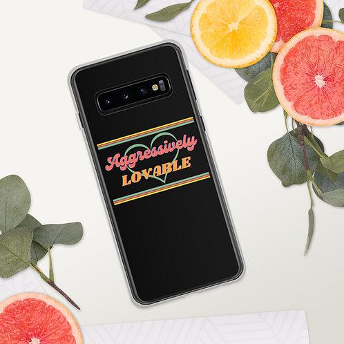 Aggressively Lovable Samsung Case (black)