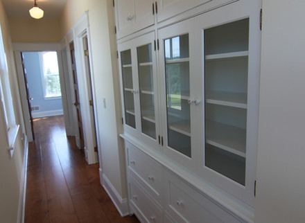 Traditional built-in cabinets