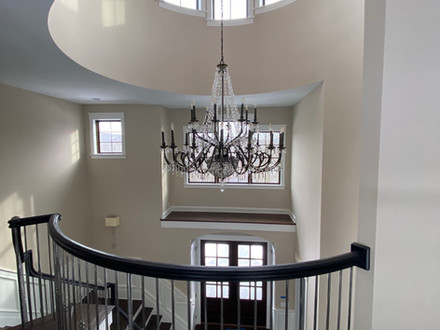 Three Story Foyer