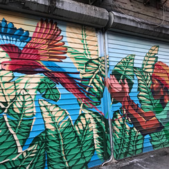 Mural at 713 Flatbush Ave in Brooklyn