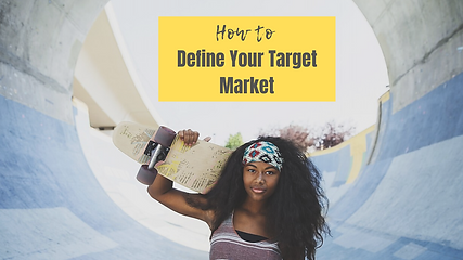 Youtube Cover How to Define Your Target