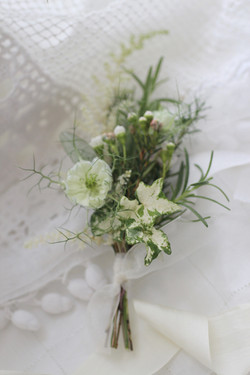 corsage 襟花