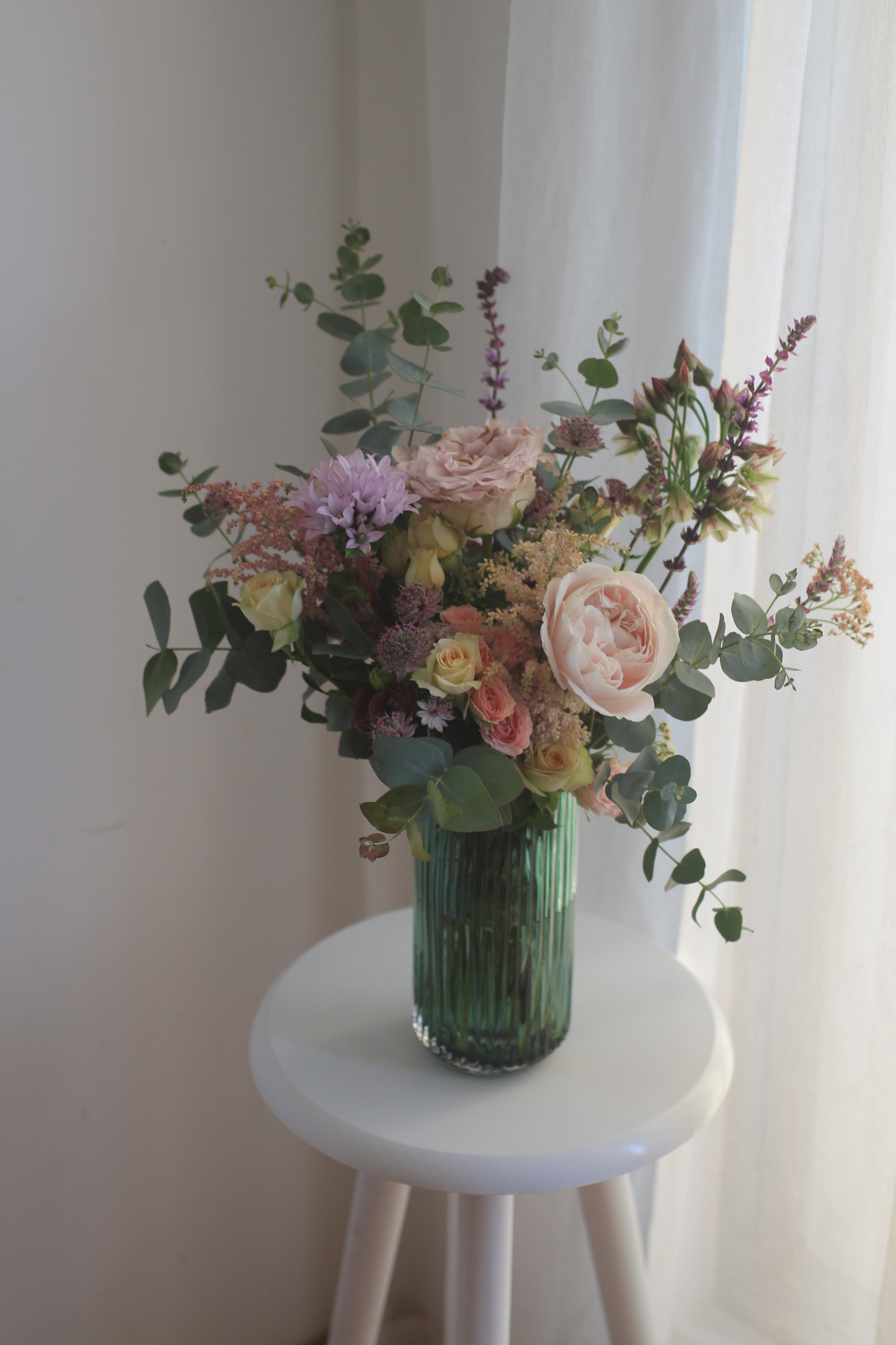 Vase arrangement (elementary)