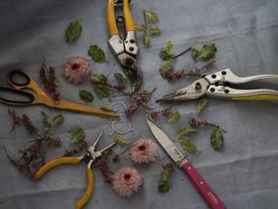 花藝師之日常 - 工具