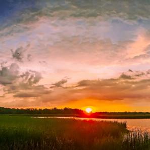 Cranberry Pond Sunset