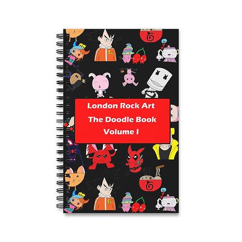 The Doodle Book | Volume I (Black)