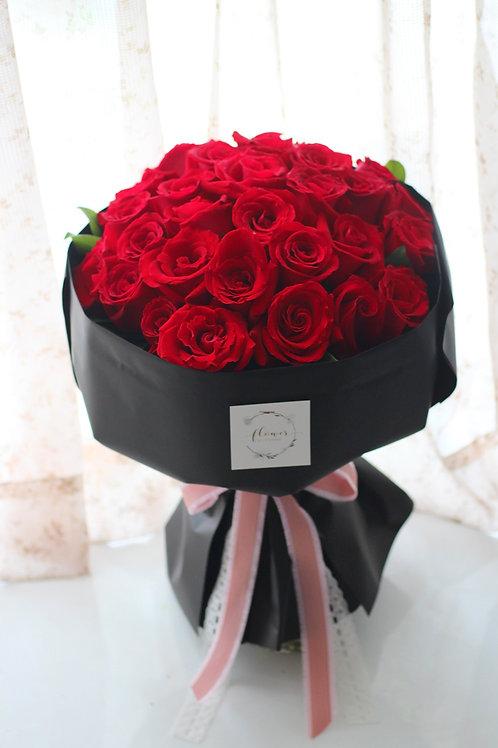 je T'aime - 30 roses (i love U)