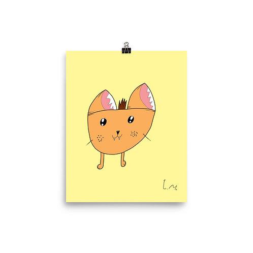 #LondonsArt - Foxy Art Print