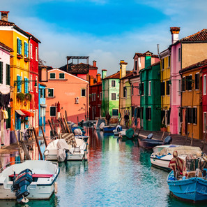 Canal on Burano