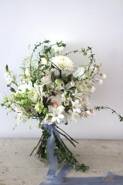 Natural white 花球
