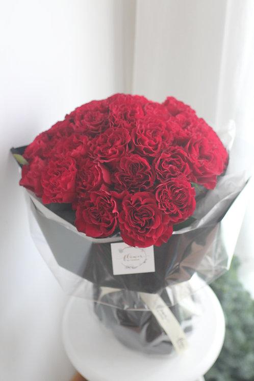 Je t'aime (30 garden rose)