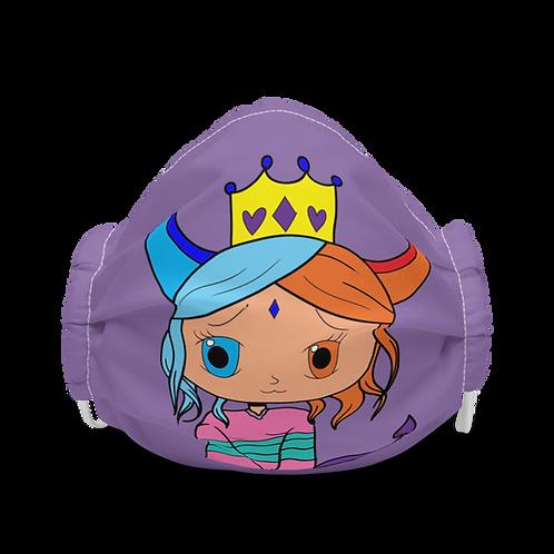 #RockysArt - Purple Queen Face Mask