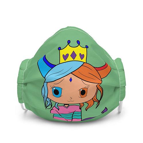 #RockysArt - Queen Premium face mask