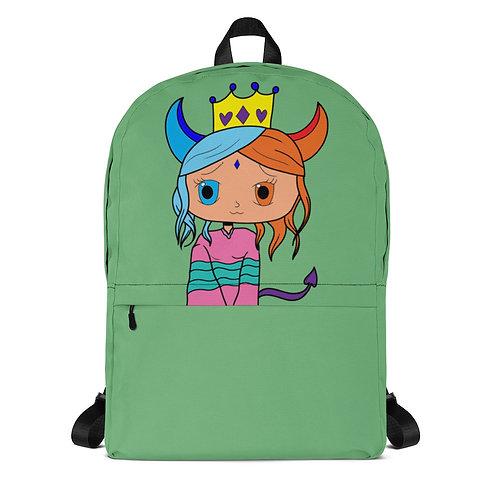 #RockysArt - Queen Print Backpack