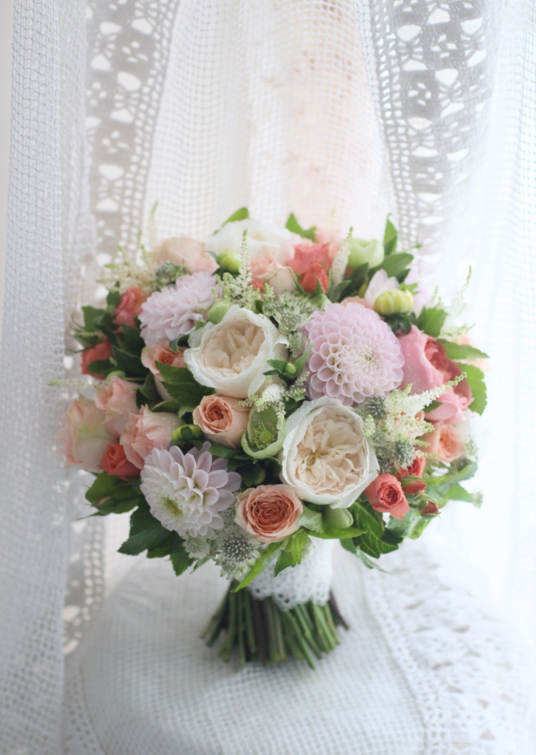 Bridal bouquet - Elégance 花球