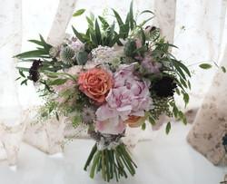 Bridal bouquet - champêtre 花球