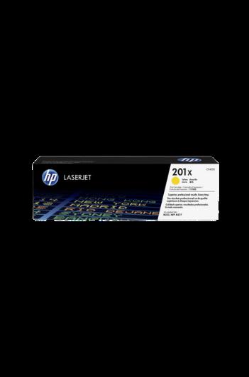 HP CF402X טונר צהוב