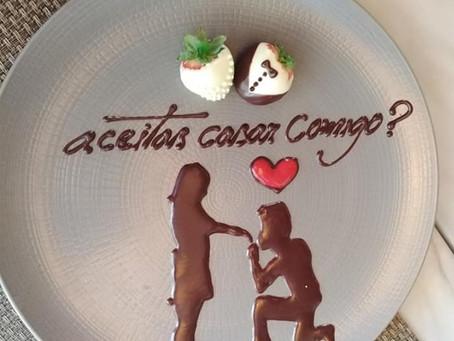 O dia de São Valentim está quase a chegar e, para torná-lo especial, selecionámos ementa criativa!