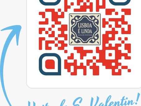 Noite de São Valentim !  Marque Lisboa é Linda!