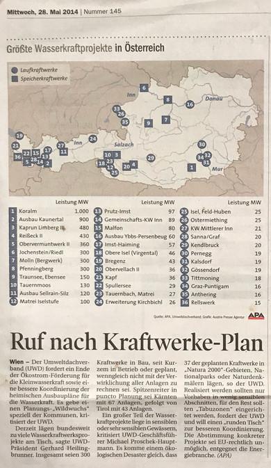 Tiroler Tageszeitung 28.05.2014