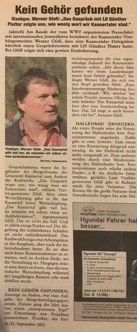 Rundschau 11.-12.09.2013