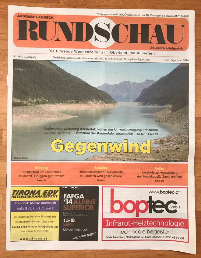 Rundschau 03.-04.09.2014