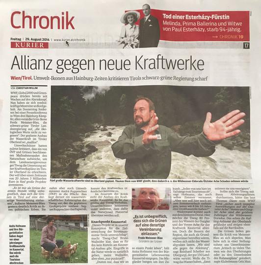 Kurier 29.08.2014
