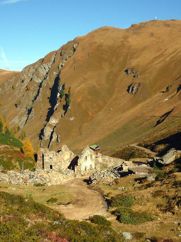 Altes Bergwerk Platzertal