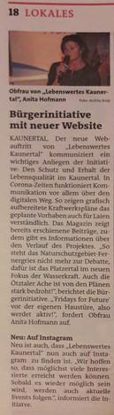 Bezirks Blätter, 24.-25.02.2021