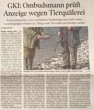 Tiroler Tageszeitung 12.11.2014