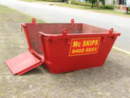 image of a 2m³ skip bin