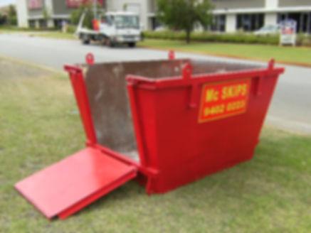 image of a 3m³ skip bin