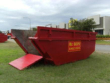 image of a 6m³ skip bin