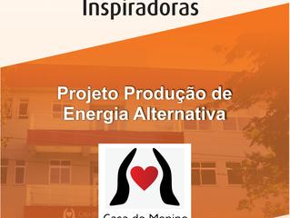 Projeto ARF Ideias Inspiradoras:          Energia alternativa da Casa Menino Jesus de Praga
