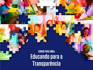 Lançamento da 3ª Edição do Curso Educando para a Transparência