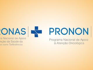 PRONAS e PRONON abrem credenciamento