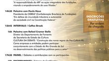 SEMINÁRIO ARF, a importância do terceiro setor como articulador da sociedade civil organizada.