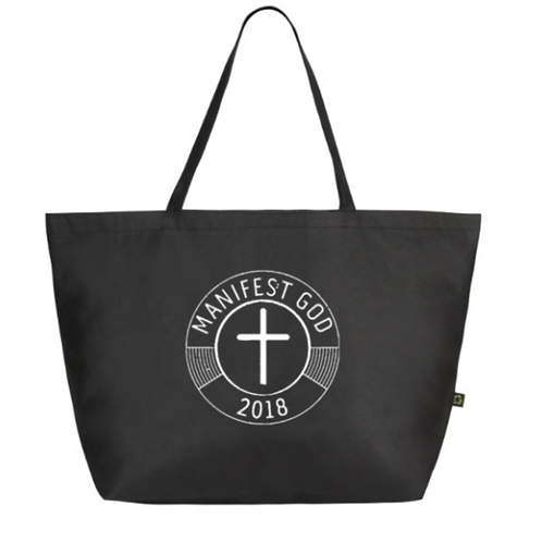 Black Manifest GOD Shoulder Bag