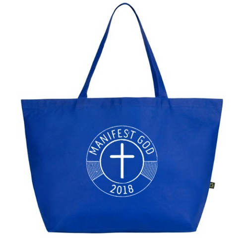 Blue Manifest GOD Shoulder Bag