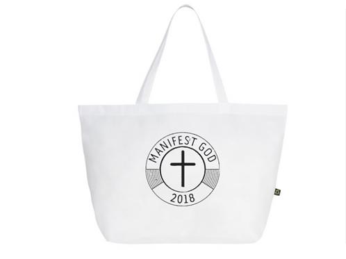 White Manifest GOD Shoulder Bag