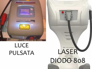 LUCE PULSATA O LASER DIODO 808? SCOPRI LA NOVITA'!